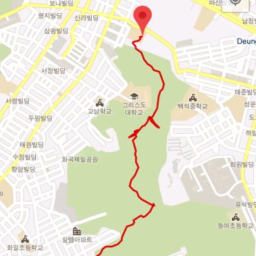 Bongjesan (1:02:43, 2.68 km)