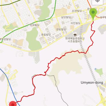 Umyeongsan (2:29:12, 5.72 km)