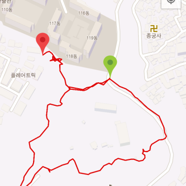 Geumhosan (37:26, 1.11 km)