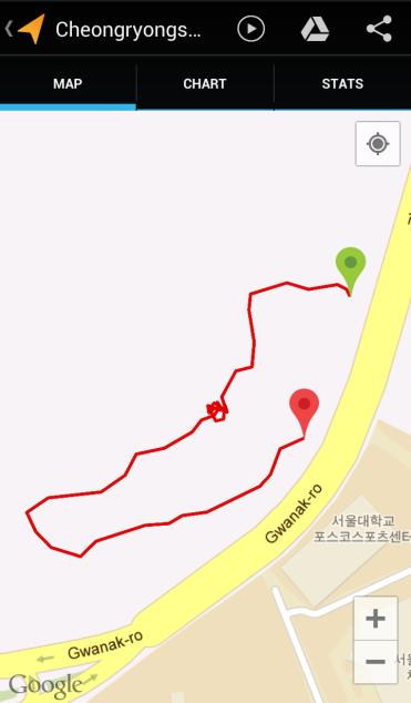 Cheongryongsan (22:11, 0.68 km)