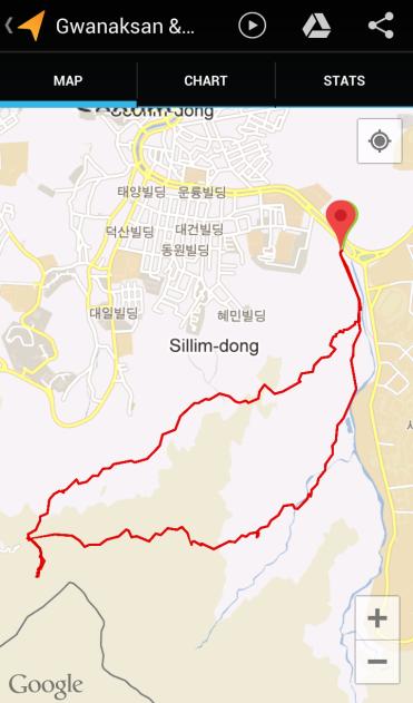 Gwanaksan & Samseongsan (3:44:00, 8.25 km)