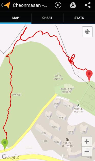 Cheonmasan (50.17, 1.33 km)