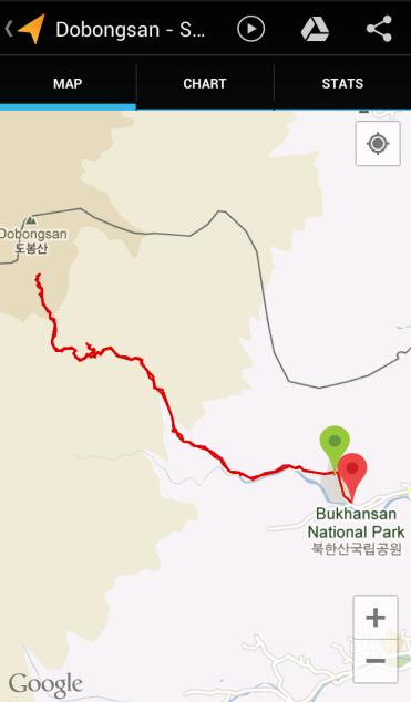 Dobongsan (3:20:32, 6.48 km)