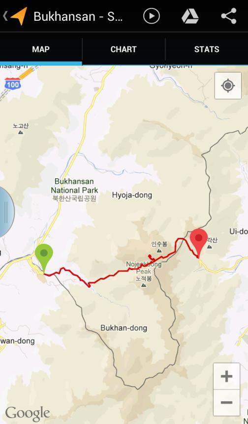 Bukhansan trail